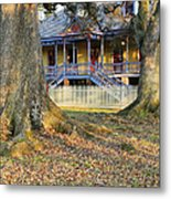Historic Plantation Slave Quarters Metal Print by Jeremy Woodhouse