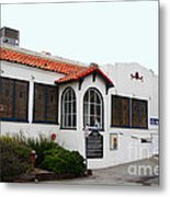 Historical Moss Beach Distillery At Half Moon Bay . 7d8168 Metal Print by Wingsdomain Art and Photography