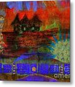 Home Is Where We Live Metal Print by Angela L Walker