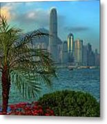 Hong Kong Mornings Metal Print by Bibhash Chaudhuri