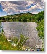 Horsetooth Reservoir Summer Scene Metal Print by Harry Strharsky
