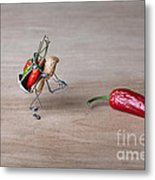 Hot Delivery 01 Metal Print by Nailia Schwarz