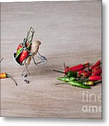 Hot Delivery 02 Metal Print by Nailia Schwarz