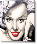 Hot Lips Metal Print by Bruce Carter