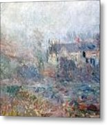 House At Falaise Metal Print by Claude Monet