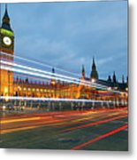 Houses Of Parliament Metal Print by Ray Wise