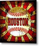 Houston Metal Print by David G Paul