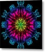 Humandala 3 Metal Print by David Kleinsasser