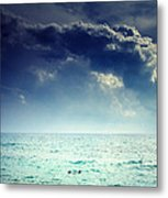 I Am Alone Metal Print by Stelios Kleanthous