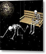 I Am Leaving You Metal Print by Claude McCoy