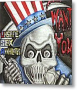 I Want You Metal Print by Rick Hill