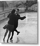 Ice Waltz Metal Print by Kenneth Rittener