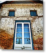 If Bricks Could Talk Metal Print by Cheryl Young