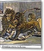 Ignatius Of Antioch (c35-110) Metal Print by Granger