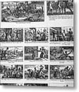 Illustrations Of The Antislavery Metal Print by Everett
