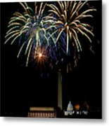Independence Day In Dc Metal Print by David Hahn