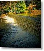 Indiana Waterfall Metal Print by Joyce Kimble Smith