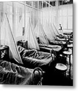 Influenza Ward Metal Print by Usa Library Of Medicine