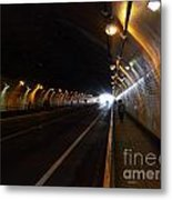 Inside The Stockton Street Tunnel In San Francisco . 7d7363.3 Metal Print by Wingsdomain Art and Photography