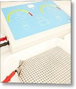 Iontophoresis Equipment Metal Print by
