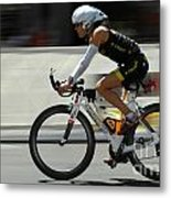 Ironman 2012 Flying By Metal Print by Bob Christopher