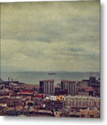 Is Anybody Out There Metal Print by Laurie Search