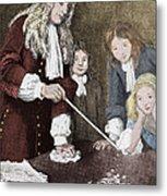Isaac Newton, English Polymath Metal Print by Science Source