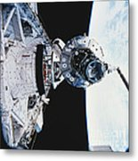 Iss Module Unity Metal Print by Science Source