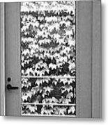 Ivy Door Metal Print by Anna Villarreal Garbis