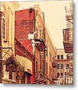 Jack Kerouac Street San Francisco . 7d7437 Metal Print by Wingsdomain Art and Photography