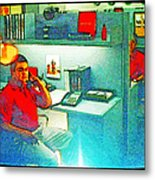 Jake From State Farm Metal Print by Lenore Senior