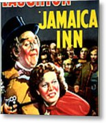 Jamaica Inn, Charles Laughton, Maureen Metal Print by Everett