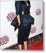 Janet Jackson Wearing An Alexander Metal Print by Everett