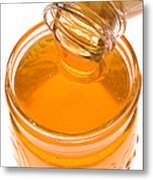 Jar Of Honey Metal Print by Garry Gay
