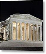 Jefferson Memorial Metal Print by Metro DC Photography