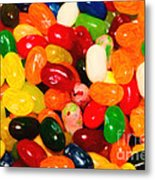 Jelly Belly - Painterly Metal Print by Wingsdomain Art and Photography