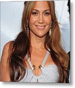 Jennifer Lopez Wearing An Emilio Pucci Metal Print by Everett