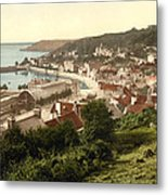 Jersey - Saint Aubins - Channel Islands - England Metal Print by International  Images