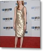 Jessica Chastain At Arrivals For I Am Metal Print by Everett