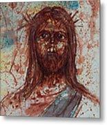 Jesus Christ Metal Print by Thomas Lentz