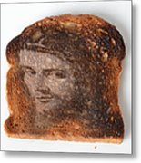Jesus Toast Metal Print by Photo Researchers, Inc.