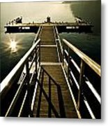 Jetty Metal Print by Joana Kruse