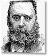 Johann Joseph Most Metal Print by Granger