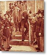 John Brown: Execution Metal Print by Granger