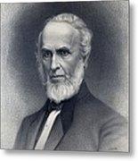 John Greenleaf Whittier 1807-1892 Metal Print by Everett