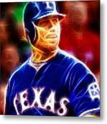 Josh Hamilton Magical Metal Print by Paul Van Scott