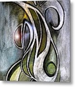 Joy Neoglyph Metal Print by George  Page