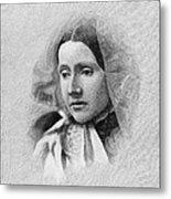 Julia Ward Howe (1819-1910) Metal Print by Granger