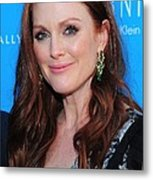 Julianne Moore At Arrivals For The Kids Metal Print by Everett