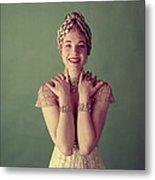 Julie Andrews, Mid-late 1950s Metal Print by Everett